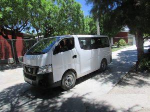 Hart voor Haiti - personen bus