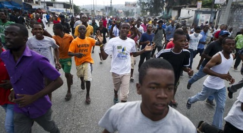 HAITI-POLITICS-MARTELLY-STRIKE-FUELS
